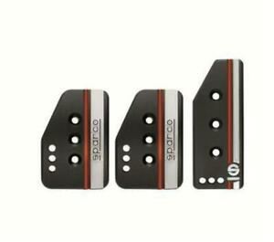 Sparco Pedal Set Settanta Short Black 037879op01