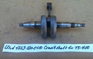 Stihl Crankshaft For Ts400 Concrete Saw 4223 030 0400 Genuine Part Make Offer