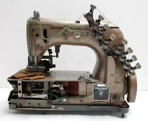 Union Special 54400 J 12 needle 24 thread Chainstitch Industrial Sewing Machine