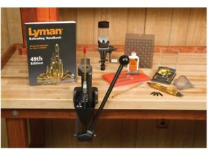 Lyman Crusher 2 Single Stage Press Master Reloading Kit 7810281 Free Shipping