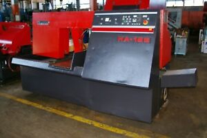 16 X 16 Amada Fully Automatic Hydraulic Horizontal Band Saw Model Ha 16s 1986