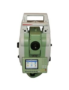 Leica Ts12 P 3 R400 Total Station With Cs15 Field Controller And Accessories