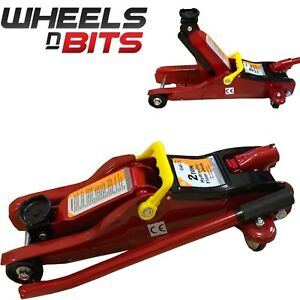 New 2 Ton 85mm Low Profile Hydraulic Trolley Floor Jack Garage Lifting Car Van