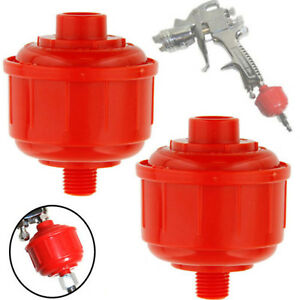 Disposable Air Filter Water Trap Hvlp Paint Spray Gun Tools Accessory Newest