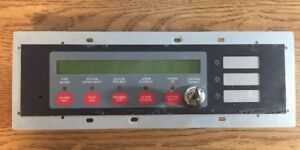 Simplex 4606 9101 Remote Lcd Fire Alarm Annunciator With Key 46069101