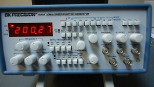 Bk Precision 4040a 20 Mhz Function Generator With Sweep