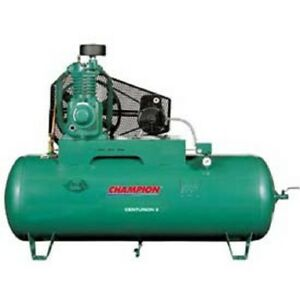 New Two stage Electric Air Compressor Hrv7f 8 Fp 7 Hp 80 Gal 230v 1ph