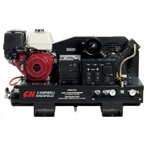 New Combination Unit 10 Gallon 14 Cfm Compressor 5000 Watt Generator