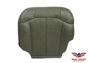 2000 Chevy Silverado 1500 2500 Lt Ls driver Side Bottom Vinyl Seat Cover Gray