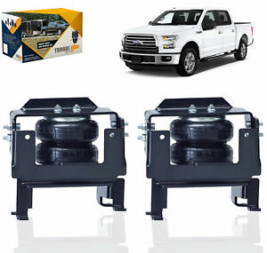 2015 2019 Ford F150 2wd 4wd Air Spring Helper Suspension Kit No Drill