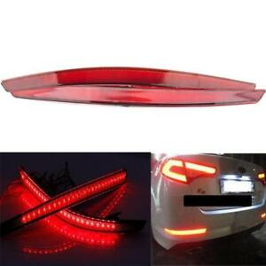 Red Lens Rear Bumper Reflector Led Bar Light 40 Smd For Kia Optima K5 2011 13