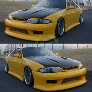 High Quality Auto Part Resin Fiber Fit For Nissan Skyline R33 Front Bumper Yy