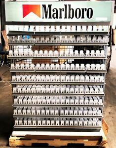 Altria Cigarette Retail Display Rack 55 Tall X 4ft Wide Local Pu In Indiana