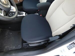 Neoprene Bottom Seat Covers For Cars Trucks And Suv s One Size Fits All