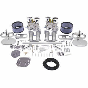 Empi 47 7347 Dual 40 Hpmx Carb Kit Vw Type 4 Air Cooled Dual Port Engine