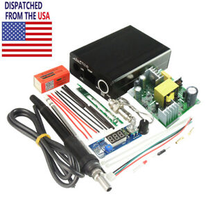 Us Digital Soldering Iron Station Temperature Controller Diy Kits For Hakko T12