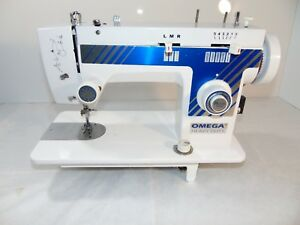 Industrial Strength Heavy Duty Omega 350 hd Sewing Machine made In Japan