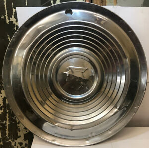 One Vintage 1952 1956 Mercury Monterey 15 Rim Hubcap Wheel Cover Hub Cap Used