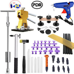 Pdr Paintless Dent Removal Tools Lifter Slide Hammer Puller Hail Box Kits