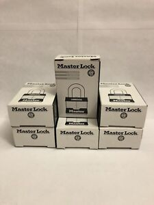 Lot Of 6 Master Lock Comany Padlock No 3 New