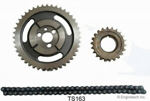 Gm Sbc V8 Chevy Hd Double Roller Timing Chain Set 5 7l 283 305 327 350 383 400