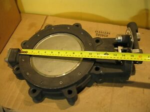 Milwaukee Hp1lcs4211 8 Butterfly Valve Sizes 8 In No Handle 150 Rptfe