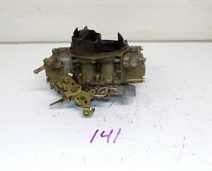 Holley 600 Cfm 9834 3 Carb Carburetor Automatic Trans