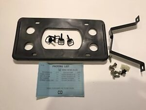 Factory Honda Crv Front License Plate Mount Kit 97 2001 Oem 1st Gen