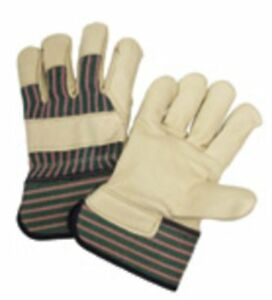West Chester 5150 Green pink Xl Grain Cowhide Leather Work Gloves Dozen