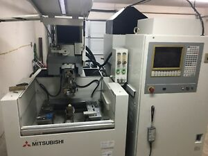 Mitsubishi Model Fx 10 4 Axis Cnc Wire Edm Machine New 1997 Refurbished 10 2016