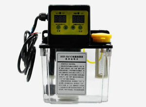 4mm 2l Dual Digital Display Automatic Electric Lubrication Pump Oiler Nc Pump
