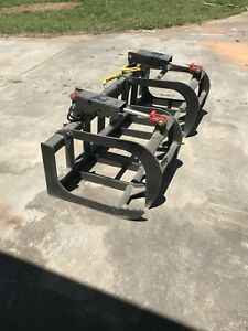 72 Root Grapple Brush Grapple Skid Steer Tractor Loader