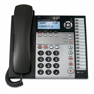 At t 1040 4 line Small Business System With Speakerphone 1 Handset Black