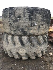 Used 65 X 40 X 39 Tires Fit Cat 992b And Komatsu Wa800
