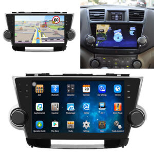 Hd Android Car Radio Player Kit Gps Navigation For Toyota Highlander 2010 2013
