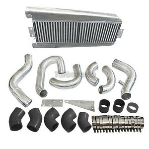 Fmic Intercooler Kit For 87 93 Fox Body 5 0 Ford Mustang Vortech V3 Supercharger