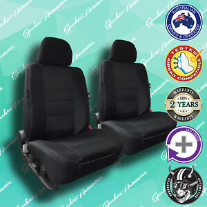 For Toyota Yaris Black Front Car Seat Covers High Quality Elegant Jacquard