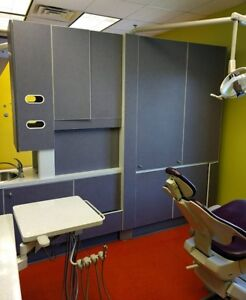 Adec 2 Room Dental Operatory Package Adec 511 Chairs Dental Cabinets Xray