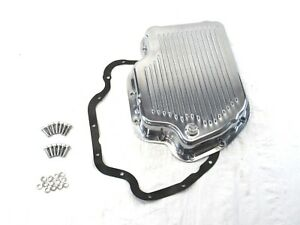 Aluminum Gm Turbo 400 Finned Transmission Pan Polished Bpe 7202