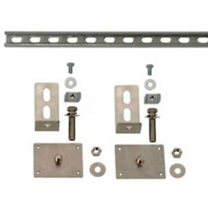 Mounting Brackets 5480 For 17 w Safety Compact Cabinets Lot Of 1