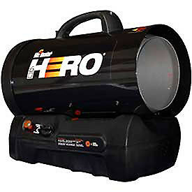 Mr Heater Forced Air Propane Heater Cordless 30k To 60k Btu Lot Of 1
