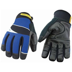 Waterproof Work Glove Waterproof Winter W Kevlar 174 Blue black Large 1