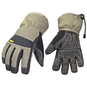 Waterproof All Purpose Gloves Waterproof Winter Xt Gray Medium 1 Pair Lot