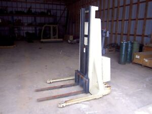 1996 Crown 20mt Electric Forklift