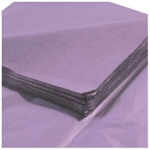 Tissue Paper 20 x30 Lavender 480 Pack Lot Of 1
