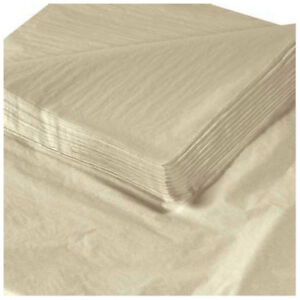 20 X 30 Tan Tissue Paper 480 Pack Lot Of 1