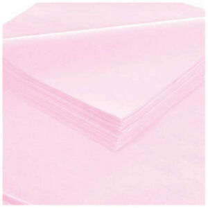 Tissue Paper 20 x30 Light Pink 480 Pack Lot Of 1