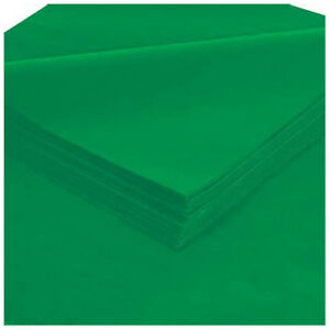 Tissue Paper 20 X 30 Kelly Green 480 Pack Lot Of 1