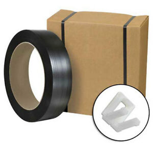 Jumbo Postal Approved Poly Strapping Kit 1 2 X 9 000 Coil Cutter