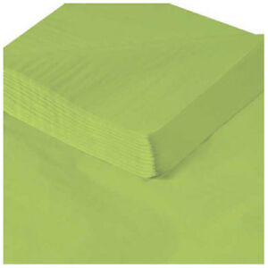 20 X 30 Citrus Green Tissue Paper 480 Pack Lot Of 1